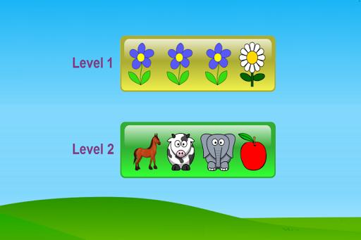 百里挑一 挑选出不同类别的儿童教育游戏