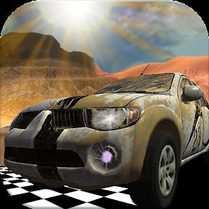 沙漠速度快四轮驱动赛车 賽車遊戲 App LOGO-APP開箱王