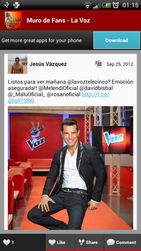 La Voz : Muro de Fans !! - screenshot