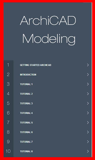 Learn Archicad 13 Tutorial