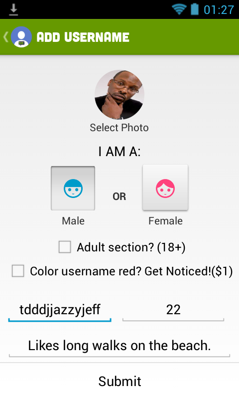 KIK Username Finder , friends - screenshot
