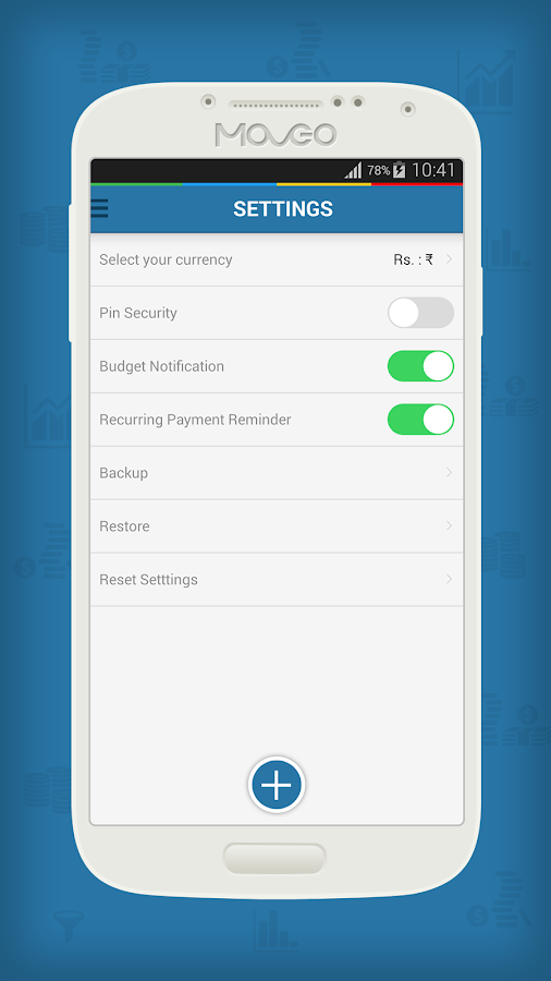 Moveo Expense Manager- screenshot