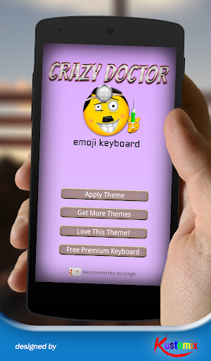 Crazy Doctor Emoji Keyboard