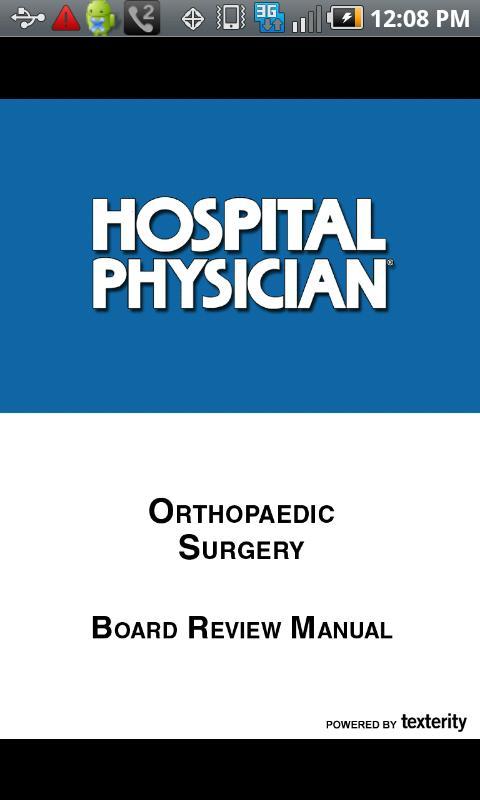 Orthopaedic Surgery- screenshot