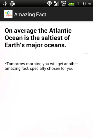 Daily amazing knowledge facts