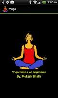 Screenshot of Yoga Poses for Beginners
