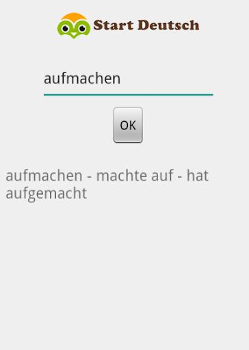 Start Deutsch Verb