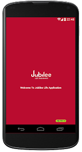 Jubilee Life Insurance screenshot