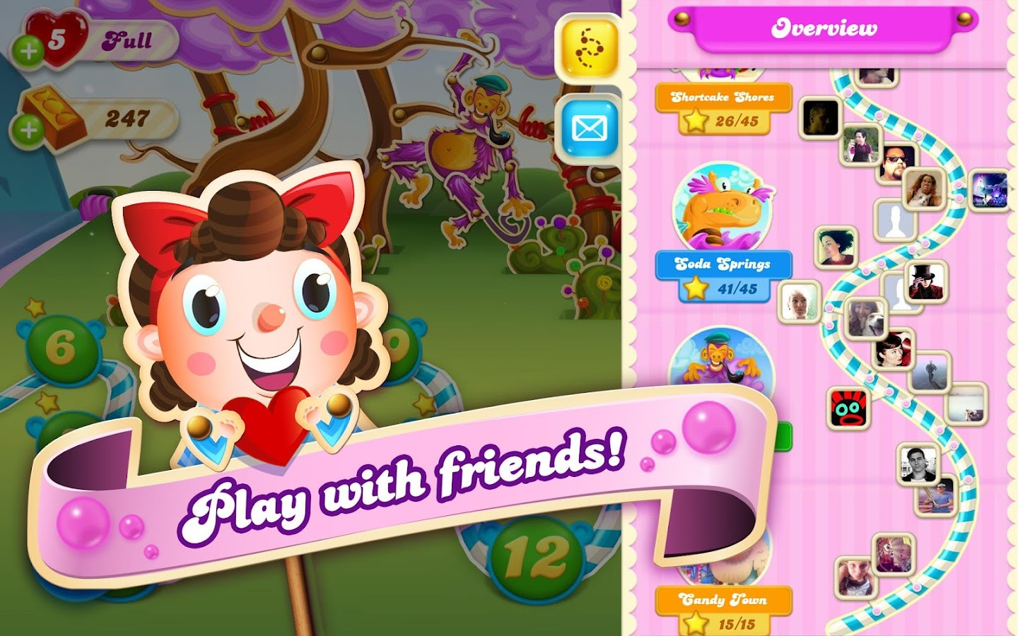 Candy Crush Soda Saga - screenshot