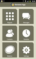 Screenshot of Vectone App