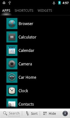 Transparent vivid theme for SH - screenshot