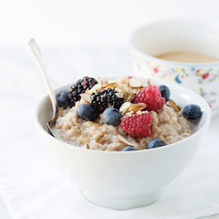 Almond Breeze Slow Cooker Vanilla Spiced Oatmeal.