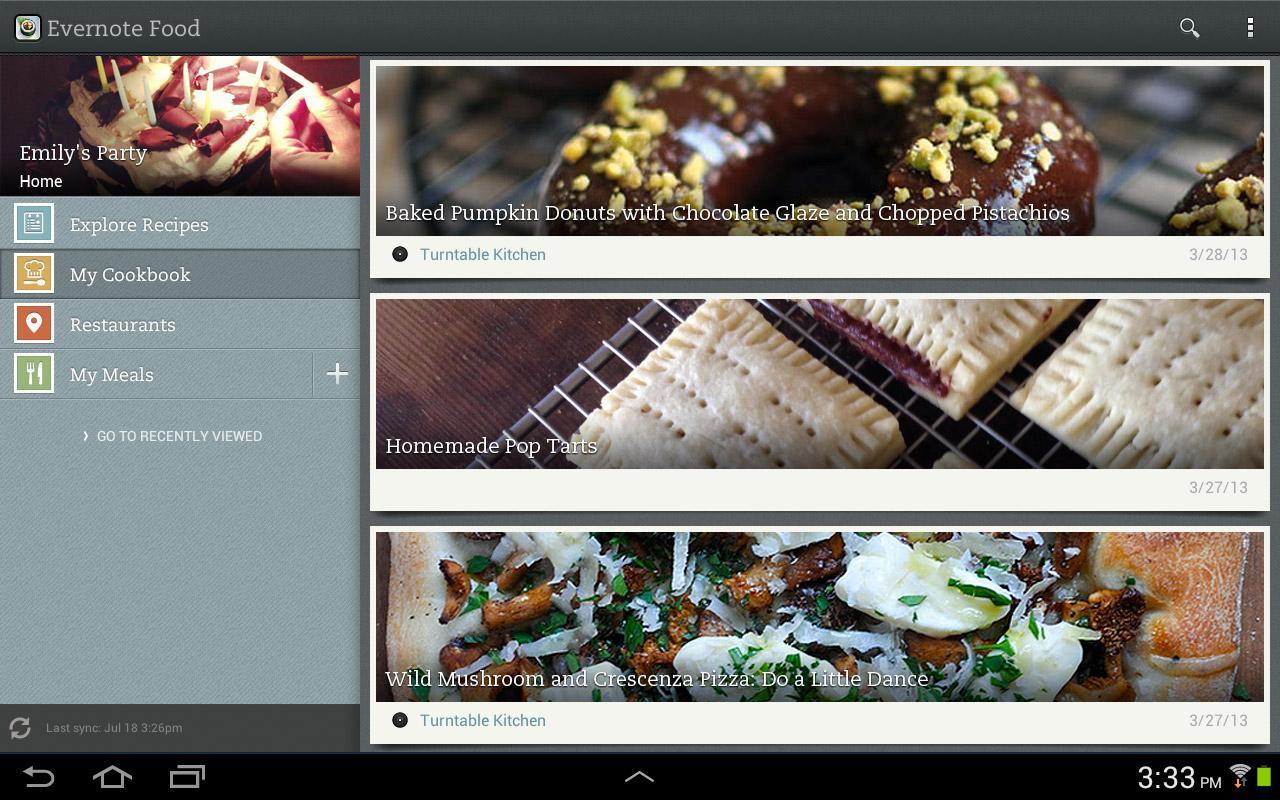 Evernote Food screenshot #2