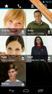 Swipe Dialer Free- screenshot thumbnail