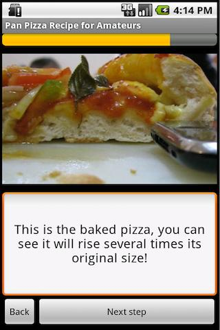 Pan Pizza Dough Recipe - screenshot