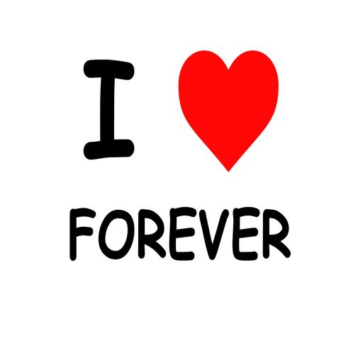 i♥Forever 商業 App LOGO-硬是要APP