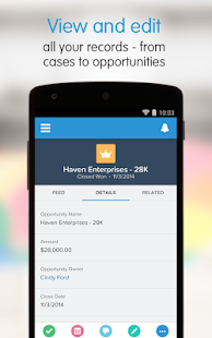 Salesforce1 - screenshot thumbnail