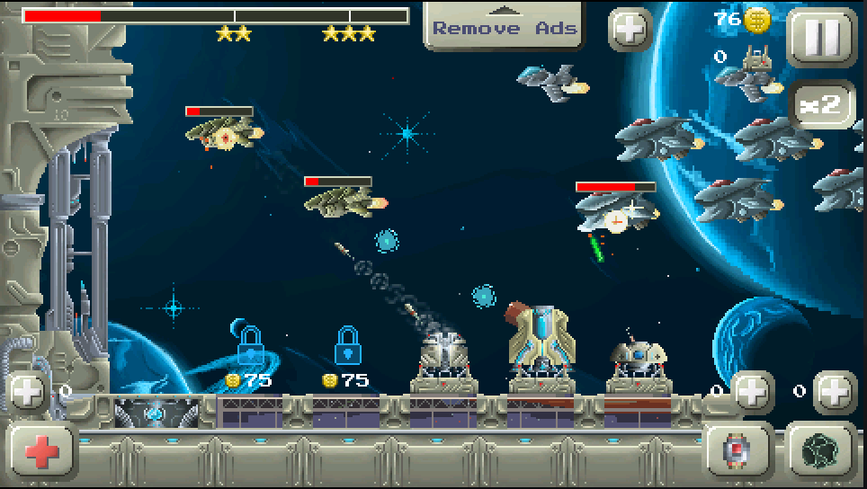 Deep Space Tower Defense - screenshot