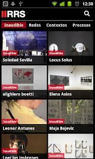 RRS Radio Museo Reina Sofía - screenshot thumbnail