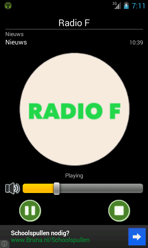 Radio F - screenshot