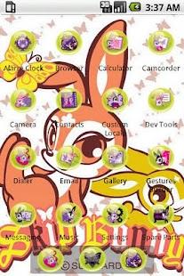 Funny Skip Bunny [SQTheme] ADW- screenshot thumbnail