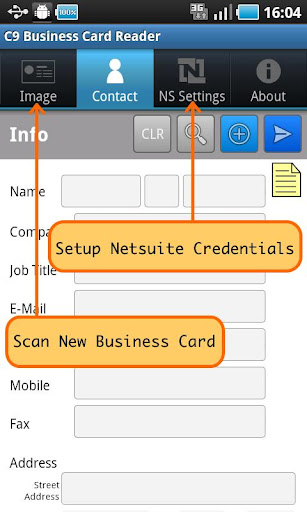 C9 BCR for NetSuite