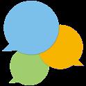 Chaberium 登録不要の無料グループチャット icon