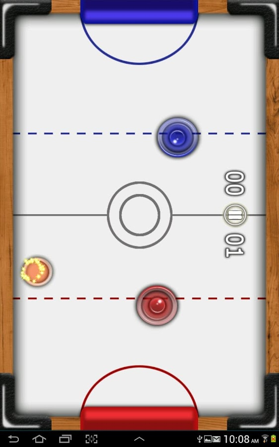 Air Hockey Penguin:Frozen Bird - screenshot