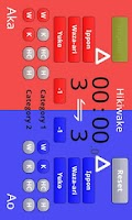 Screenshot of Karate Scoreboard Free
