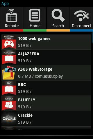 Mobile Remote - screenshot