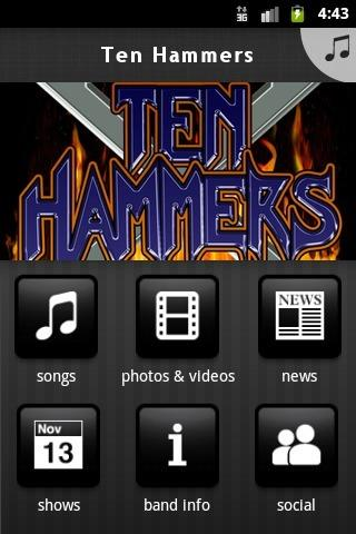 Ten Hammers - screenshot