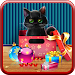Kitten on Christmas Wallpaper Icon