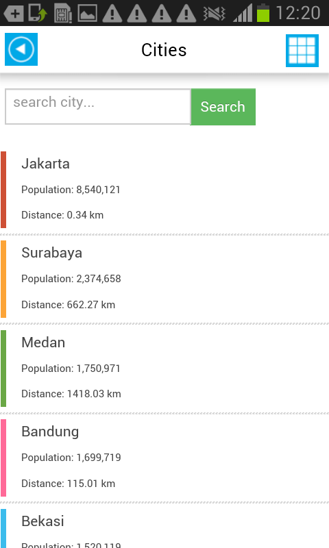 Indonesia Offline Map &Weather - screenshot