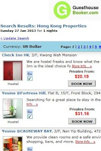 Hostel and Guesthouse Booking screenshot 2