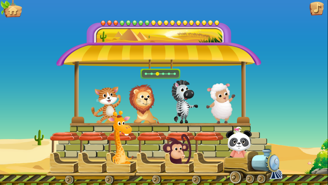 Lola's Math Train - Learn 1+1- screenshot