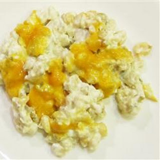 Hominy and Cheese Casserole.