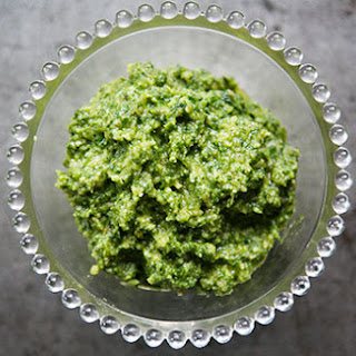 Walnut Parsley Pesto