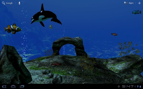Ocean Aquarium 3D Free- screenshot thumbnail