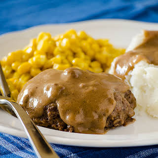 Slow Cooked Salisbury Steak.