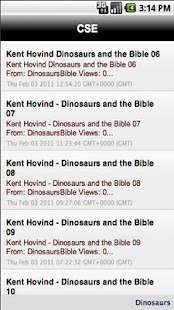Creation Science Evangelism- screenshot thumbnail