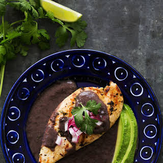 Grilled Lime Chicken with Black Bean Sauce.