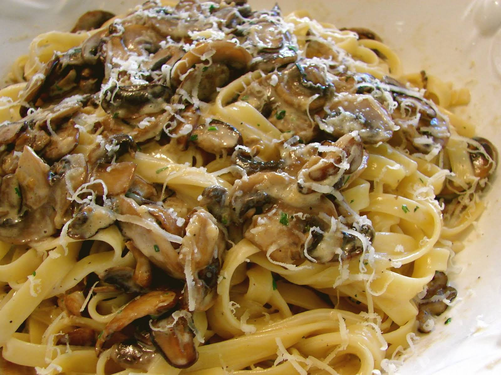 Creamy Mushroom Pasta Recipe Yummly