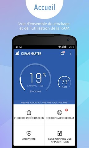 Screenshot 1 Clean Master (Boost & AppLock)
