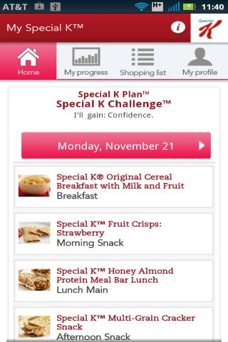 My Special K™ By Kellogg's - screenshot
