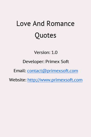 Love Quotes And Romantic SMS - screenshot