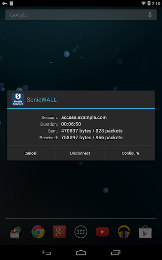 【免費商業App】SonicWALL Mobile Connect-APP點子