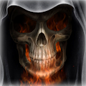 Skeleton in HellFire LWP logo