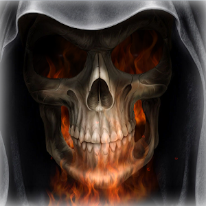 Skeleton in HellFire LWP  Android Apps on Google Play