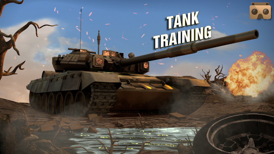 VR Tank Training Cardboard - screenshot thumbnail