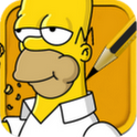 How to draw The Simpsons icon